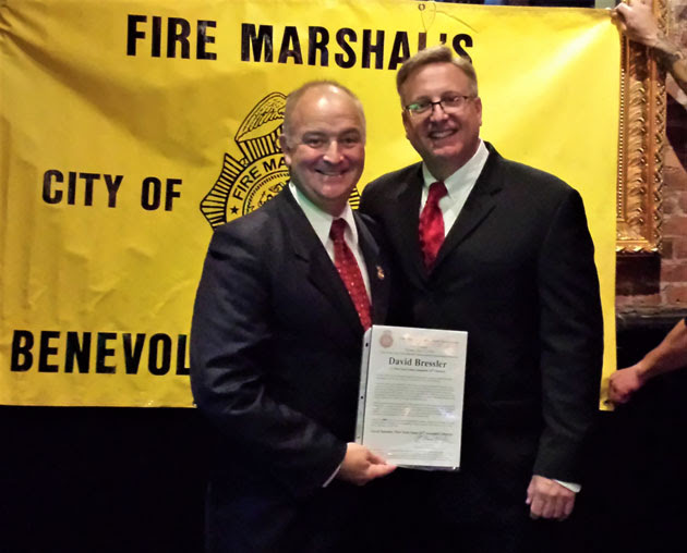 William Kregler, President of Fire Marshalls Benevolent Association