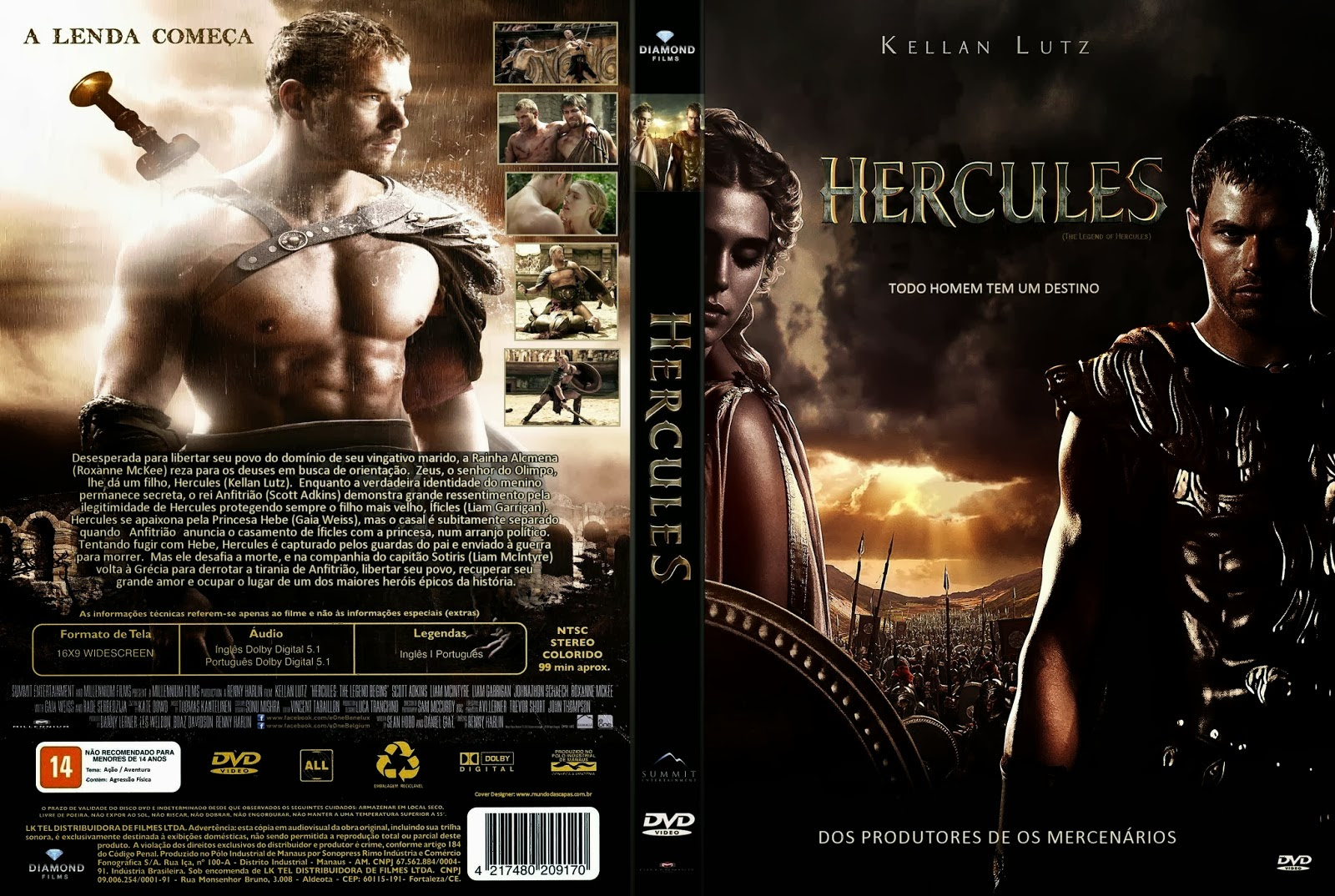 Hércules (The Legend of Hercules) Torrent – BluRay 720p Dual Audio (2014)
