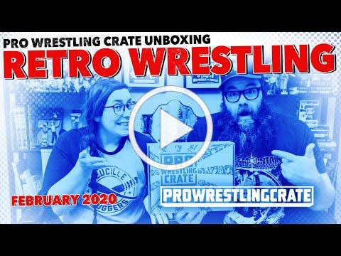"""Retro Wrestling"" Pro Wrestling Crate February 2020 Unboxing Video PW Crate"