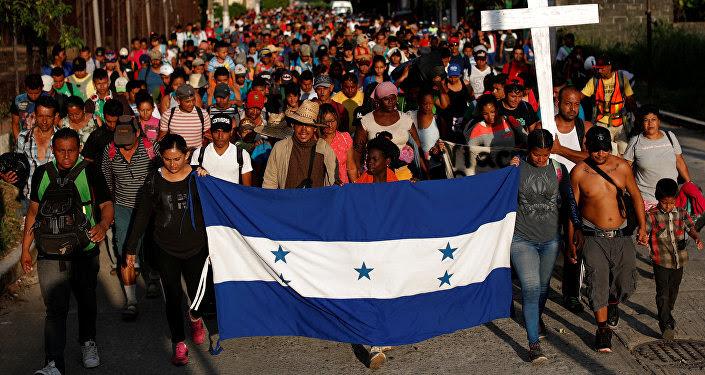 Los migrantes hondureños en México