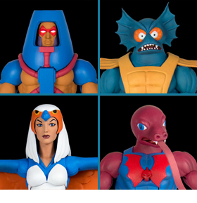 MASTERS OF THE UNIVERSE CLUB GRAYSKULL FIGURES