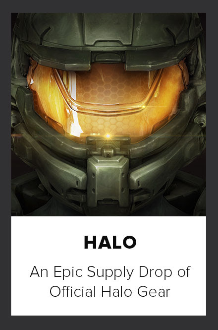 Halo An epic supply drop of official Halo gear