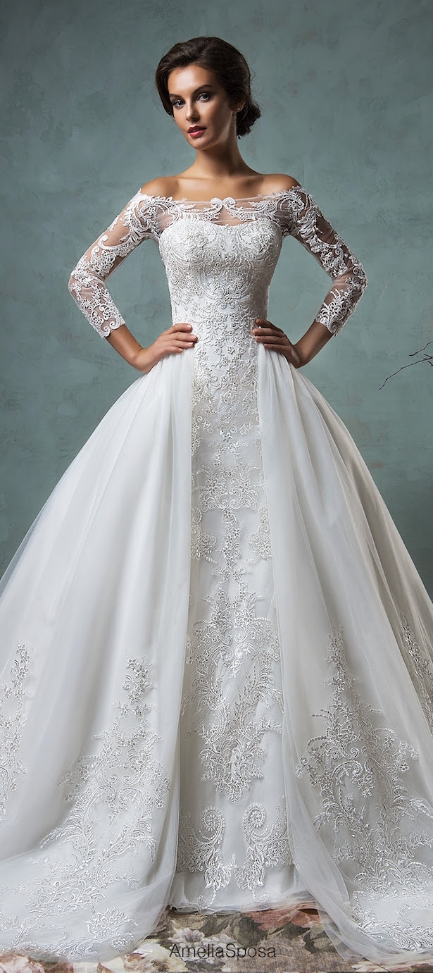 Winter Wedding Dresses - Belle The Magazine