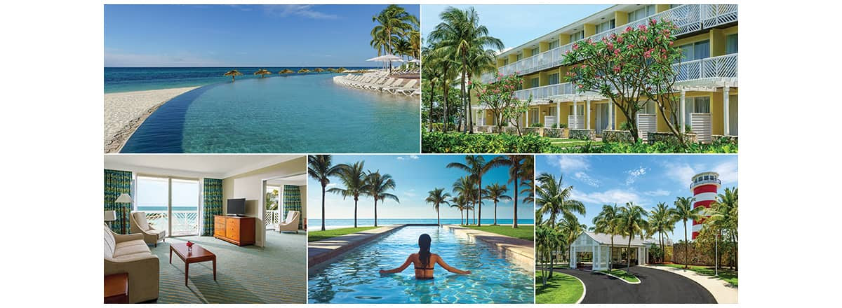 Grand Lucayan photo collage