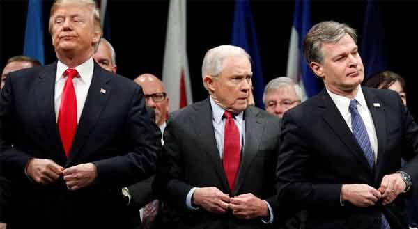 Trump em rota de colisão com novo diretor do FBI