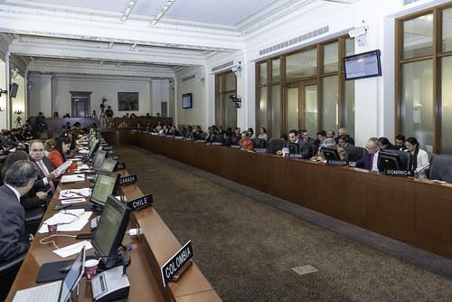 OEA aprueba resolución sobre Acontecimientos Recientes en Nicaragua
