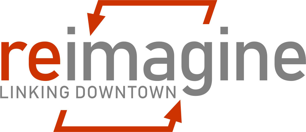 Reimaging – Linking Downtown streets: Ottawa, Ionia and Fulton logo