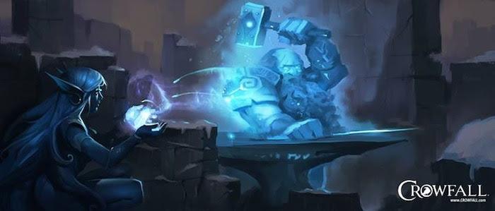 Crowfall RPG Concept Illo