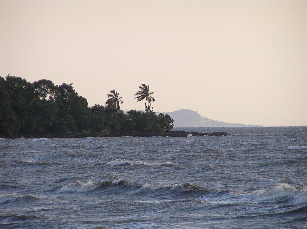 20. Guinea: 56,000 tourists