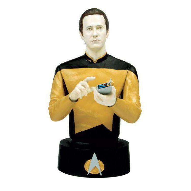 Image of Star Trek Bust Collection #4 Data - MARCH 2019
