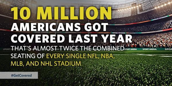 10 Million Americans Got Covered
