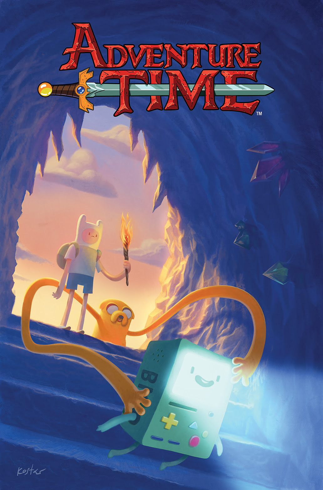 ADVENTURE TIME #32 Cover A by Kostas Kiriakakis