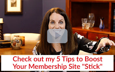 Check out my 5 Tips to Boost Your Membership Site Stick