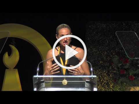 Missy West National HOF Induction Speech - The benefits of the High School Experience.