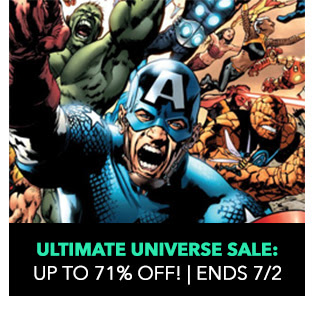 Ultimate Universe Sale: up to 71% off! Sale ends 7/2.