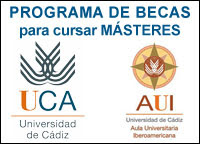Becas para Másteres Universidad de Cádiz