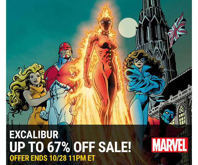 Marvel Excalibur Sale: up to 67% off! | Ends 10/28