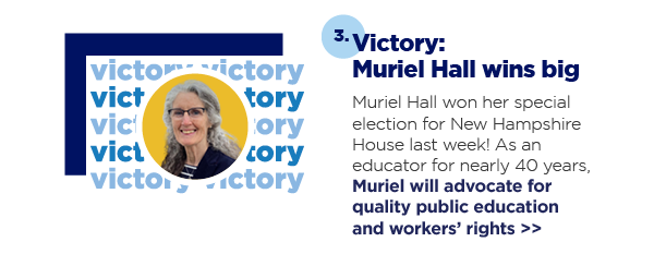 3. Victory: Muriel Hall wins big