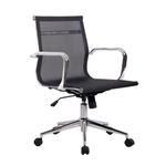 Cadeira de Escritório Eames Diretor Star Preta