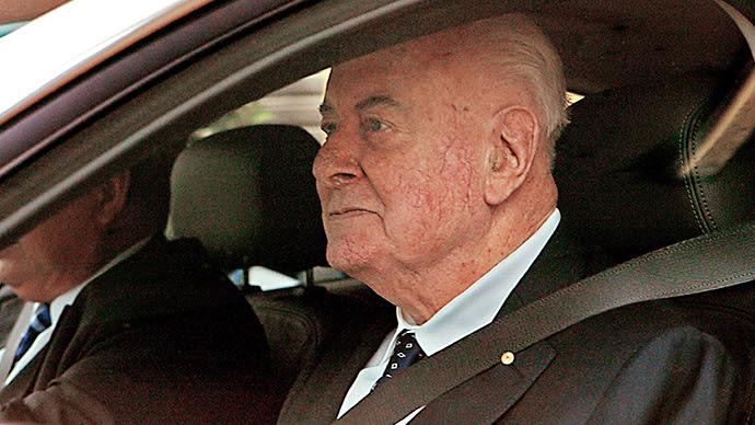 ARCHIVE PHOTO: Former Prime Minister Gough Whitlam (AFP Photo / Anoek De Groot)