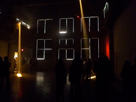 An Art Installation about Light in Montreal.