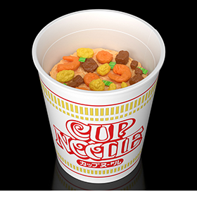 Nissin Best Hit Chronicle Series Cup Noodle Model Kit