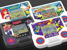 Tiger Electronics Set of 4 Hand Held Video Games