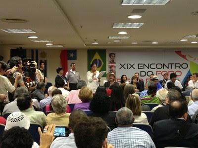 El Foro de Sao Paulo condena de hechos violentos en Venezuela