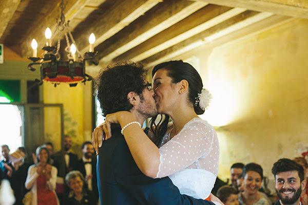 bacio degli sposi | Matrimonio anni 50