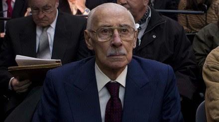Jorge Rafael Videla, exdictador argentino. Foto: AP