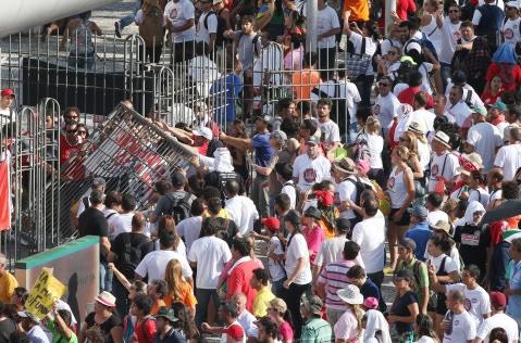 Greve dos Professore em Curitiba