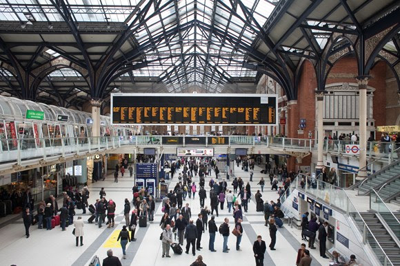 Track repaired at Liverpool Street to allow services to resume from Monday