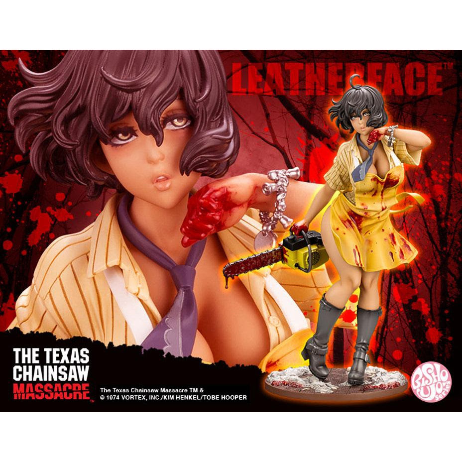 Image of The Texas Chainsaw Massacre – Leatherface Bishoujo Statue - NOVEMBER 2020