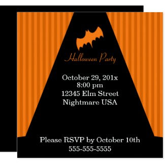Witchy Halloween Invitation