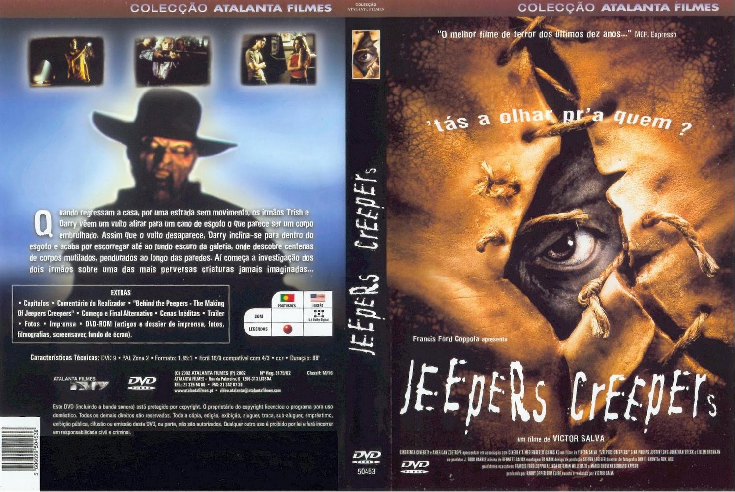 Olhos Famintos 1 e 2 (Duology Jeepers Creepers) Torrent BluRay Rip 720p Dublado (2001-2003)