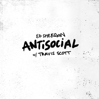Ed Sheeran Travis Scott - Antisocial
