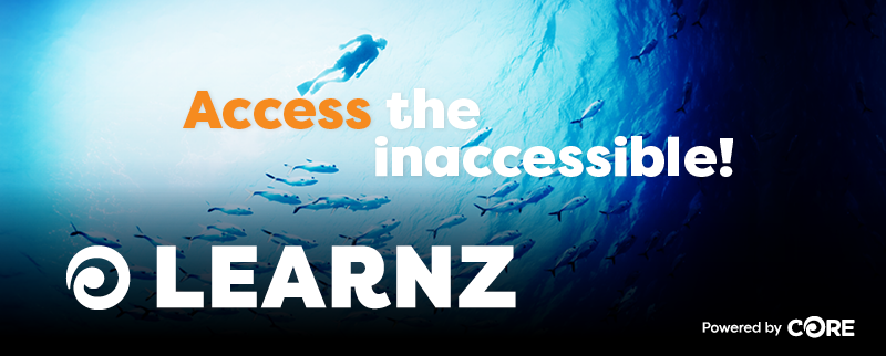 Access the inaccessible! LEARNZ powered by CORE