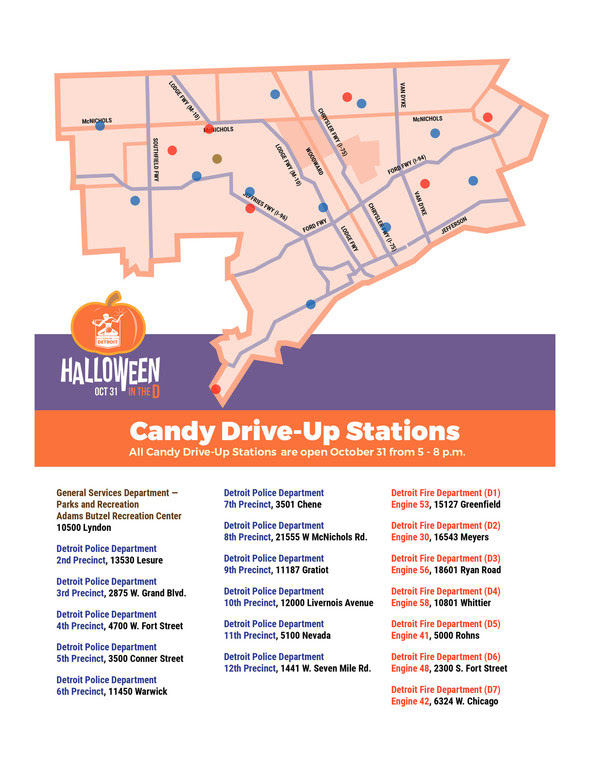 Halloween in the D Locations