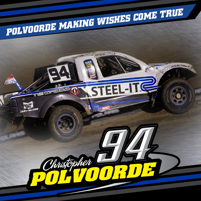 Polvoorde Racing For Points And Granting Off Road Adventures With Make A Wish America