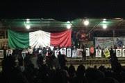 Zapatistas se unen a padres de normalistas desaparecidos. Foto: Especial