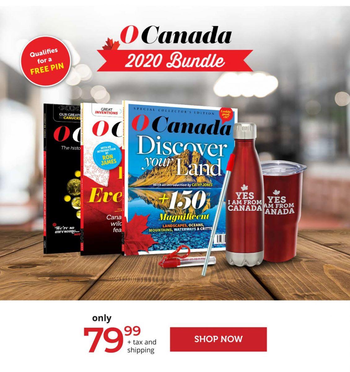 O Canada 2020 Bundle