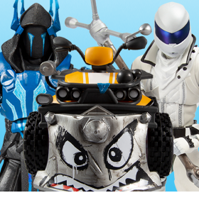 FORTNITE PREMIUM ACTION FIGURES & VEHICLE