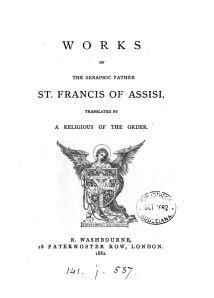 works-of-saint-francis