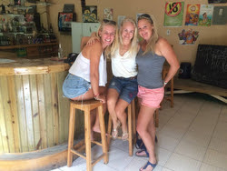 Women's J/22 sailing in Cayman Islands