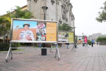 """Inauguran exposición fotográfica """"La Agricultura Familiar del bicentenario"""""""