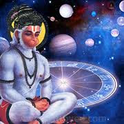 Image result for hanuman and the moon images