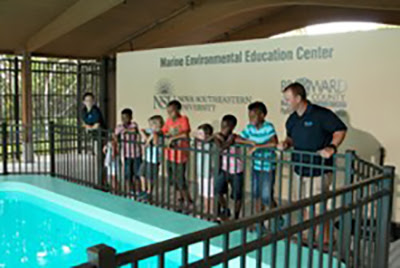 The Marine Environmental and Education Center is Now Open