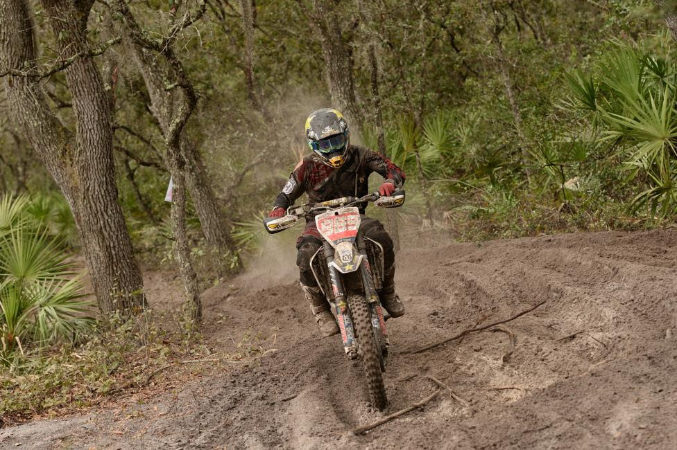 After ending his race early at the season opener, Thad Duvall came back looking for revenge where he finished second at the Moose Racing Wild Boar GNCC.