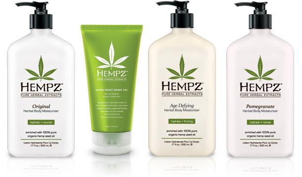 hemp cosmetics
