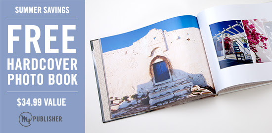 FREE photo book back for July.